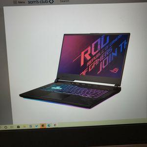 "ASUS ROG Strix G15- 15.6"" 144hz Full HD Gaming Laptop - 10th Gen Intel Core i7 - 16GB DDR4 Ram - NVIDIA GeForce GTX - RGB keyboard for Sale in Perris, CA"