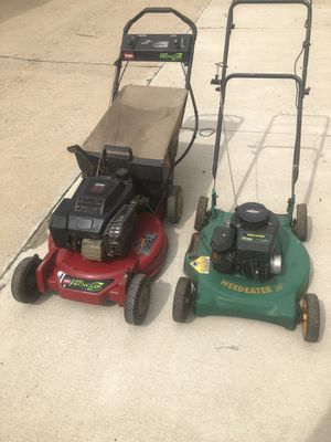 Mowers 2 for sale. for Sale in Alexandria, VA