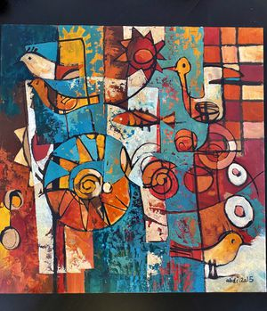 Canvas Wall Art - Original Painting - 12*12 for Sale in Boston, MA