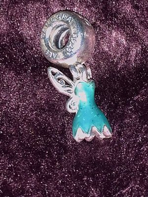 Pandora Disney Tinkerbell dress charm for Sale in Chicago, IL