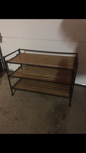 Shoe rack for Sale in St. Charles, IL