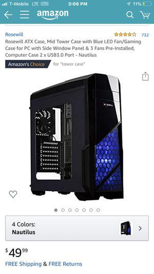 Computer case for Sale in Johnson City, TN