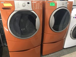 Kenmore Front Load Washer and Dryer set EXCELLENT CONDITION ✔️ for Sale in Elkridge, MD