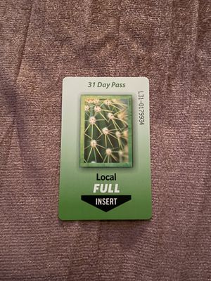 Local full bus pass for Sale in Phoenix, AZ