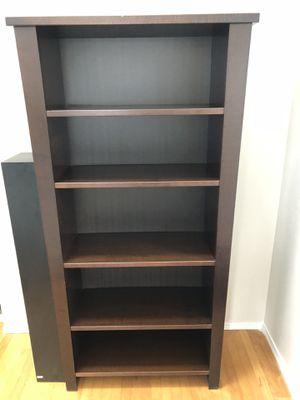 Dark wood bookshelf for Sale in Seattle, WA