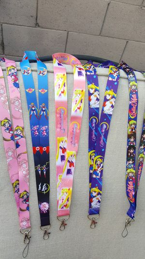 Sailor moon neck strap badge holder for Sale in Avondale, AZ