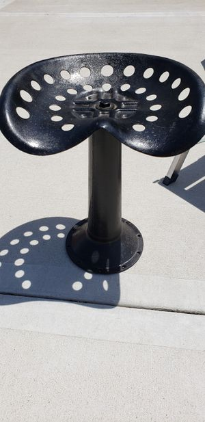 Tractor seat on pedestal for Sale in Independence, MO