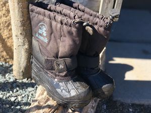 Toddler Snow boots size 11 Kamik for Sale in Lincoln Acres, CA