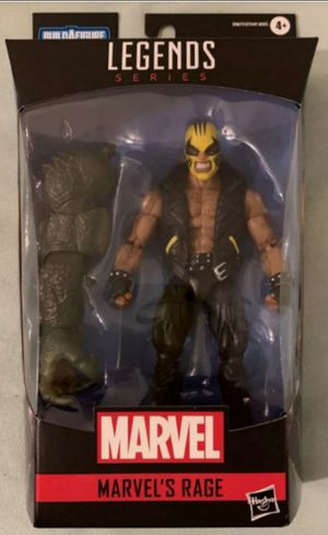 Marvel Legends Rage Collectible Action Figure Toy with Abomination Build a Figure Piece for Sale in Chicago, IL