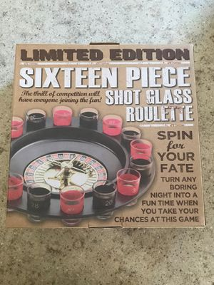 Shot Glass Roulette Game NEW for Sale in Torrance, CA