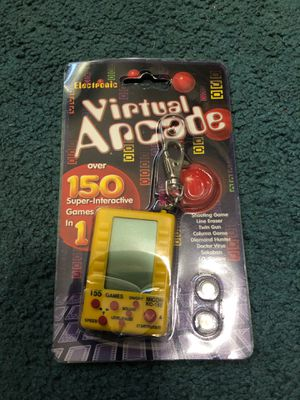 Electronic Virtual Arcade Key Chain Game for Sale in Hanover Park, IL