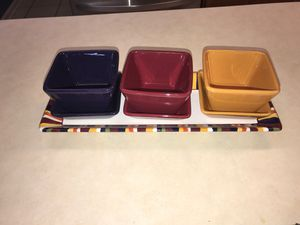 Pampered Chef- Simple Additions Entertaining Set for Sale in San Antonio, TX