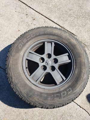 Wheels and tires off of 2016 ram for Sale in Adairsville, GA
