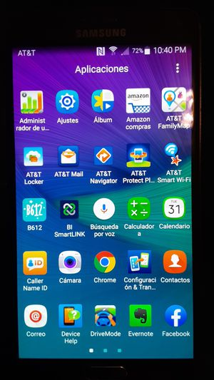 SAMSUNG GALAXY NOTE 4 ONLY AT&T PERFECT CONDITION for Sale in Visalia, CA