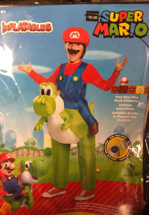 Mario Riding Yoshi Inflatable Costume for Sale in Fullerton, CA
