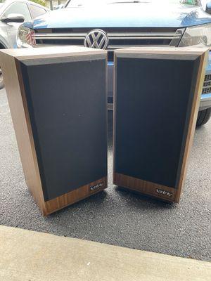 Infinity Studio Monitor 100 SM 100 Stereo hi-fi floor two way speakers 1986 Vintage for Sale in Harrisburg, PA
