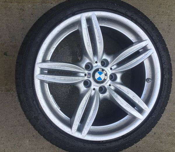 19 inch M package rims w/ tires Selling my OEM M package wheels with tires