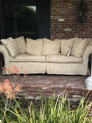 Couch 8' Slipcovers are washable for Sale in Dade City, FL
