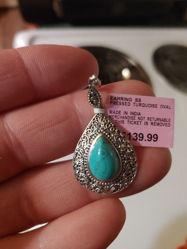 Torqoise Sterling silver earrings