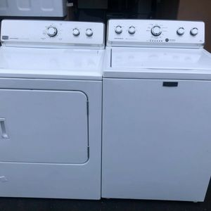 Maytag Centennial Commercial TECHNOLOGY 3.6cuf 11 Wash Cycles And 7.0cuf 13 Drying Cycles 110v Dryer for Sale in Oceanside, CA