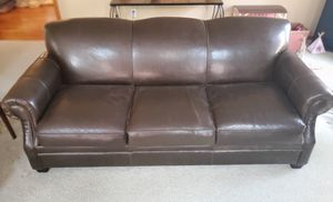 Arhaus Leather Sofa for Sale in Northfield, OH