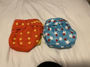 Wonder Woman cloth diapers for Sale in Lake Wales, FL
