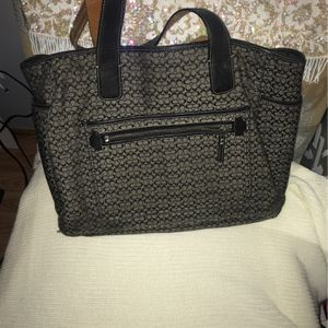 Coach Large Tote/ Diaper Bag for Sale in Orting, WA