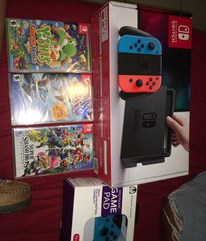 Nintendo switch bundle brand new !! for Sale in Miami, FL