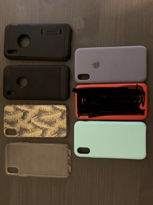 iPhone XS or X cases for Sale in Tempe, AZ