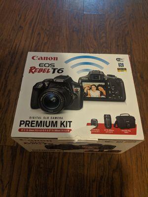 Canon EOS Rebel T6 Digital SLR Camera Deluxe Kit for Sale in Fort Wayne, IN