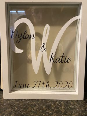 Personalized Wedding Sand Ceremony Boxes for Sale in Moore, OK