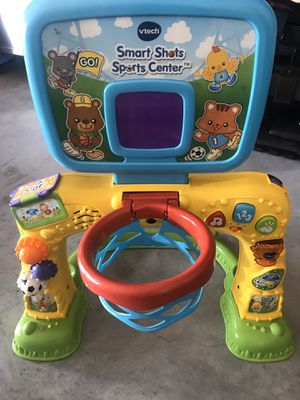 V tech smart shots basketball hoop for baby for Sale in Hialeah, FL