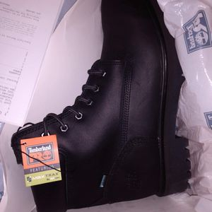 Timberland size 11men work boots Never Warn IN BOX receipt of purchase 100 OBO for Sale in Stockton, CA