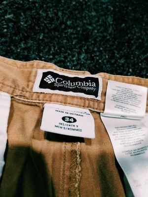 Columbia men shorts size 34 for Sale in Chesapeake, VA