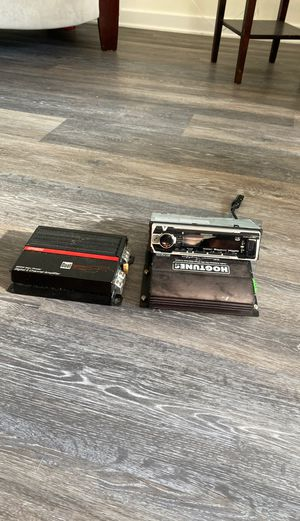 Amplifiers and headunit for Sale in Alexandria, VA
