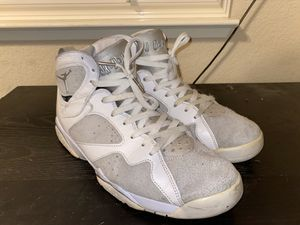 Jordan retro 7 pure platinum for Sale in Sacramento, CA