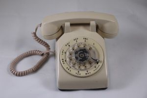 AT&T Rotary Beige Desk Phone for Sale in Grosse Pointe Farms, MI