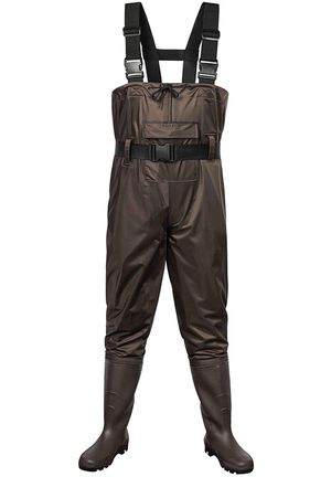 Outee Waders Fishing Waders with Boots Waterproof Lightweight Chest Bootfoot Waders Hunting Chest Wader for Men Women size 9 for Sale in Lake View Terrace, CA