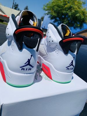 STEAL! Ds air jordan 6 hare SIZE 8 W RECEIPT ! 250 picked up for Sale in Burbank, CA