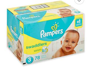 Brand New Pamper Swaddler Diapers size 3 Box for Sale in Portland, OR