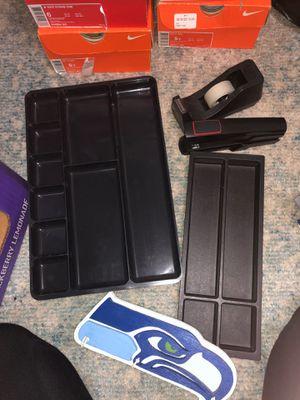 Office supplies- tray, tape, stapler for Sale in Auburn, WA