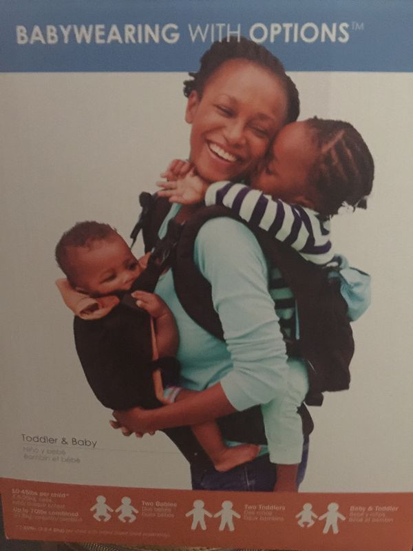 TwinGo double tandem baby carrier