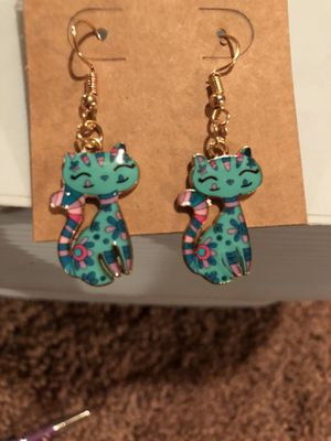 Cute Cat Earrings for Sale in Parkville, MD