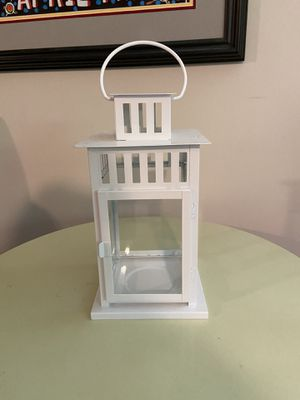 10 Ikea white decorative lantern for candle or flowers 10 total for Sale in North Springfield, VA