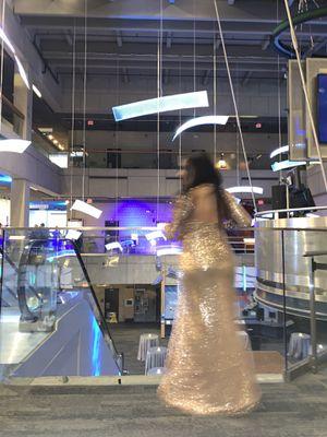 Golden glitter dress for Sale in Brookline, MA