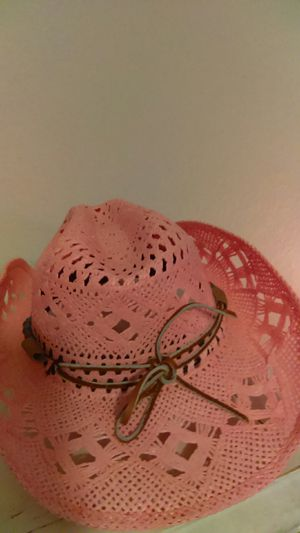 Awesome pink cowgirL hat* for Sale in New Port Richey, FL