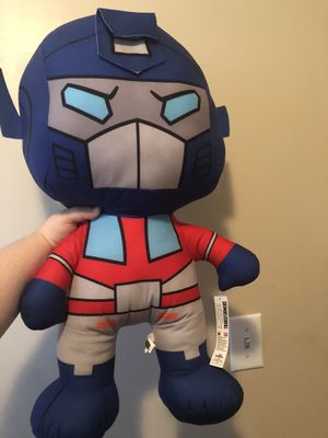 Transformers stuffed animal for Sale in Smyrna, TN