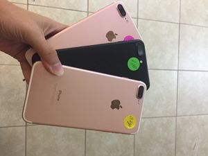 Unlocked iPhone7 Plus 32gb Excellent Condition Free Charger 🔌 30 days warranty for Sale in Dallas, TX