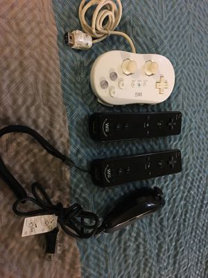 Wii Controllers 4 for one price! for Sale in Fredericksburg, VA