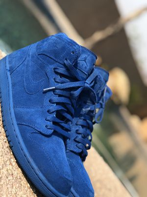 "Jordan 1 high ""Blue Suede"" for Sale in Tucson, AZ"
